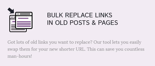 Bulk Replace Links in Old Posts and Pages