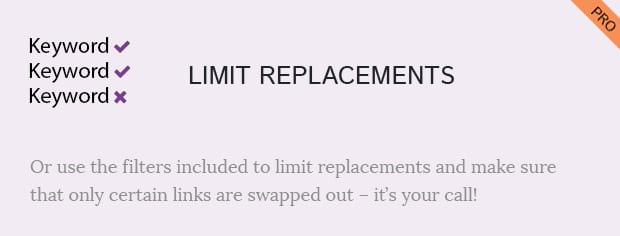 Limit Replacements