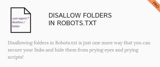 Disallow Folder in Robots.txt