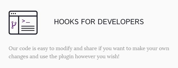 Hooks for Developers