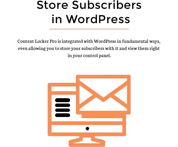 Store Subscribers in WordPress