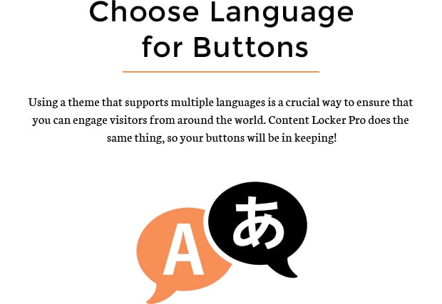 Choose Language for Buttons