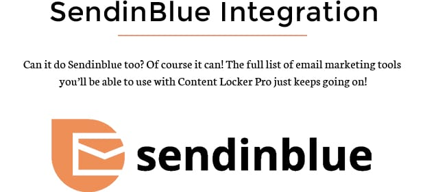 SendinBlue Integration