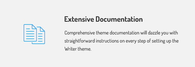 Extensive Documentation