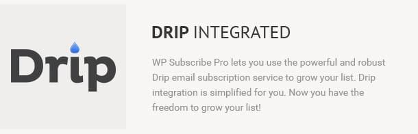 Drip Integrated