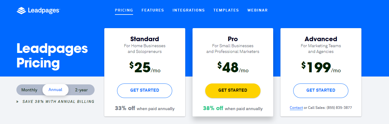 Leadpages Review & Tutorial