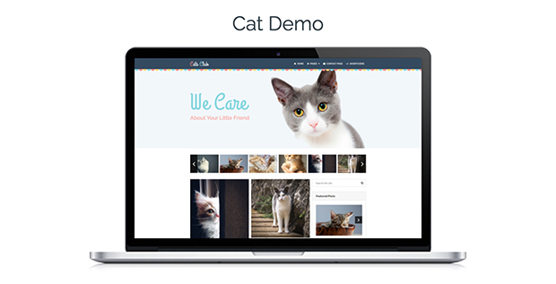 Viral Theme Cat Demo