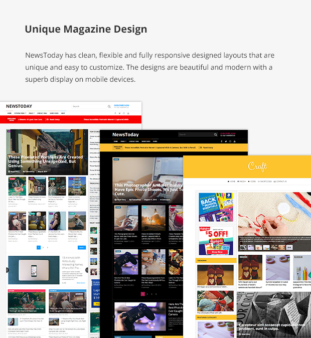 Unique Magazine Design