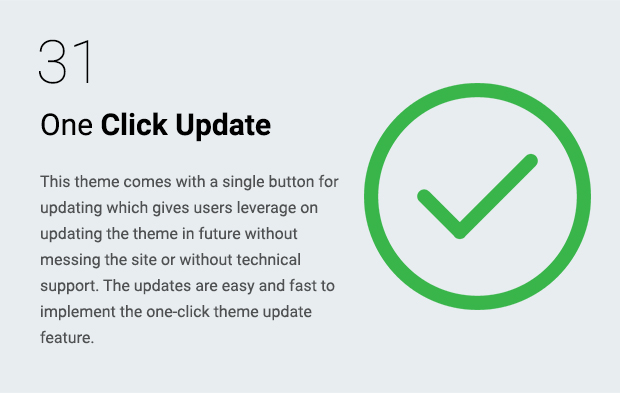 One Click Update