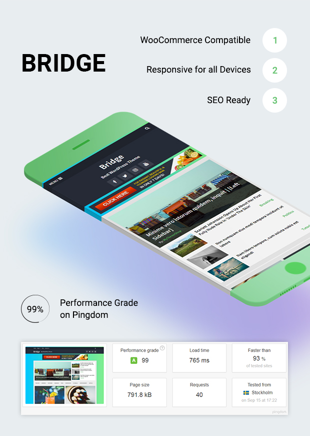 Bridge – Multipurpose WordPress Theme
