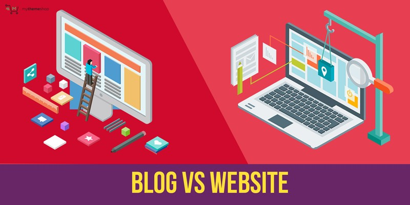 Difference Between a Blog and Website