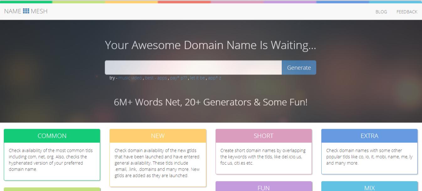 name-mesh-blog-name-generator