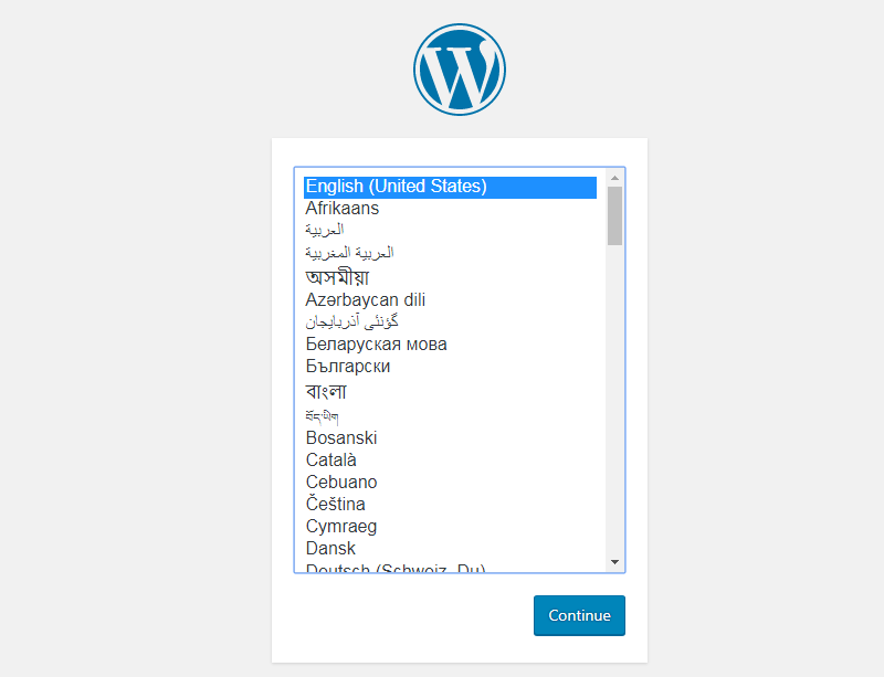 wordpress-language