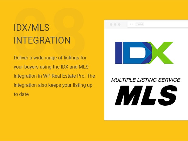 IDX/MLS Integration
