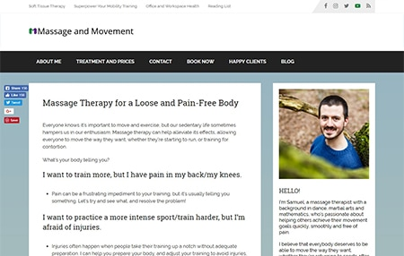 Massage and Movement